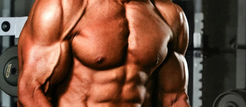 Pump the upper pectoral muscles