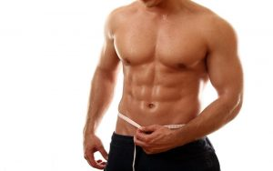 rid of fat on the stomach