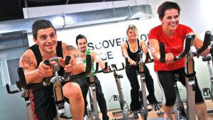 Training on the exercise bike for weight loss and endurance